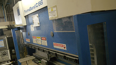 Contract Fabrication Press Brake